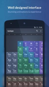 Isotope periodic table apk download free education app for isotope periodic table poster urtaz Choice Image