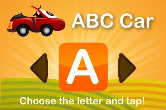 Kids Toy Car: ABC poster