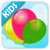 Balloon Boom for kids icon