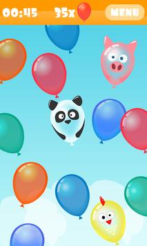 Balloon Boom for kids poster