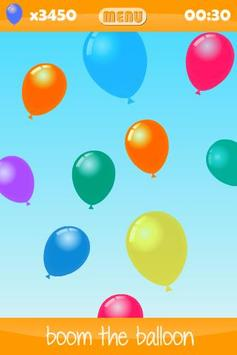 Balloon Boom for kids screenshot 2