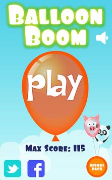 Balloon Boom for kids screenshot 4