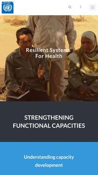 UNDP - Strengthening Health poster