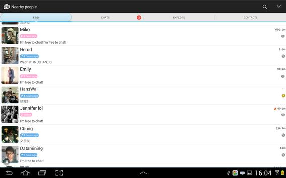 SayHi Chat, Meet New People apk screenshot