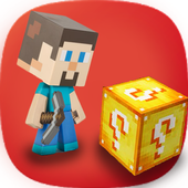 FREE 💯Lucky Gold Block's Mod FOR MCPE Guide Game icon