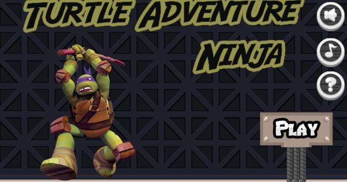 Jump Ninja Turtles Heroes poster