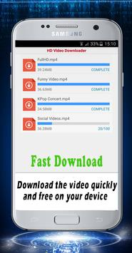 Guide HD Video Downloader 2017 apk screenshot