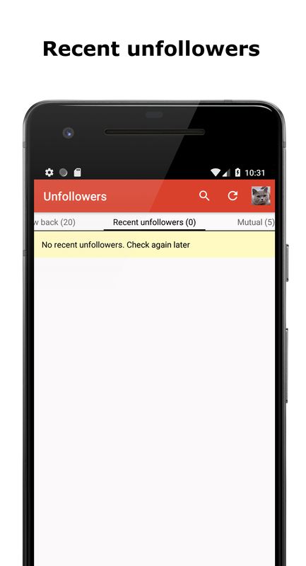 Unfollowers Followers Analytics For Instagram For Android