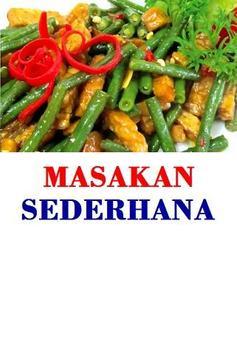 Resep Masakan Sederhana poster