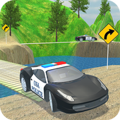 Police Car Driver Offroad 2018 icon