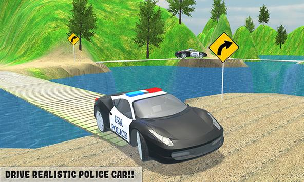 Police Car Driver Offroad 2018 poster