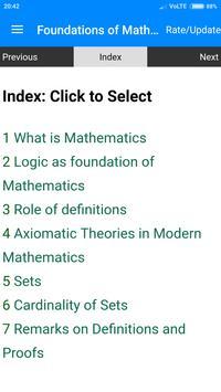 Foundations of Mathematics poster
