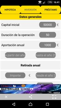 Calculadora práctica OPTIMIZA apk screenshot