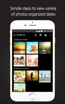 Gallery organizer! Clean Photo apk screenshot