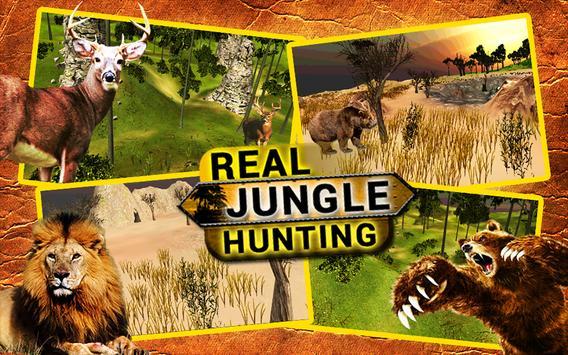 Real Jungle Hunting Ekran Görüntüsü 4