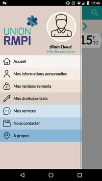 Bienvenue sur Union RMPI apk screenshot