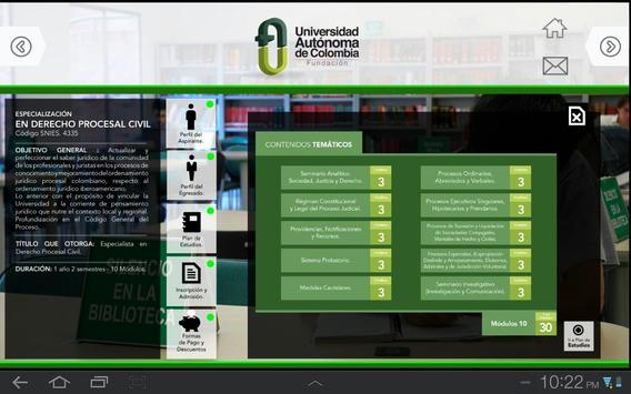 FUAC -Uni.Autónoma apk screenshot