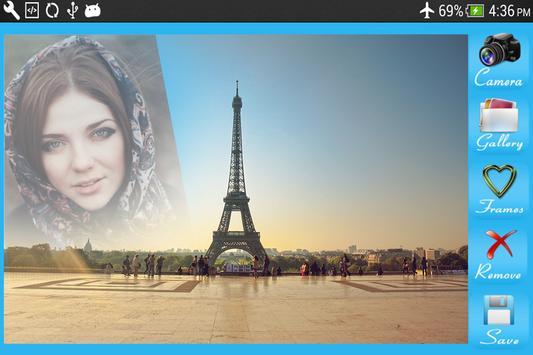 Famous Background frames apk screenshot