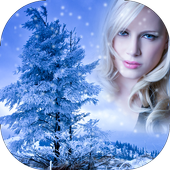 Snowfall Photo Frame icon