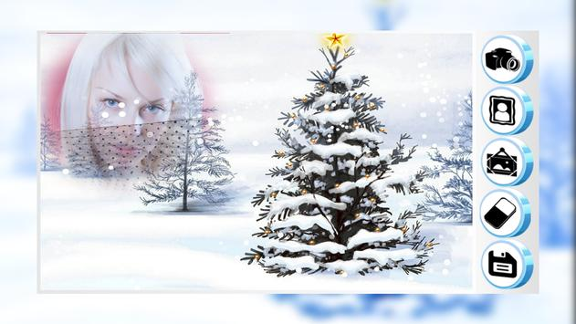 Snowfall Photo Frame apk screenshot