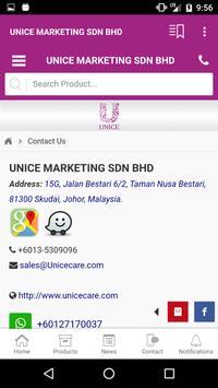 UNICE MARKETING SDN BHD apk screenshot
