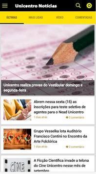 Unicentro Notícias poster
