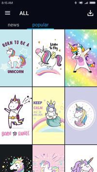 Kawaii Unicorn Wallpaper bronies screenshot 4