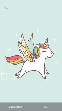 Kawaii Unicorn Wallpaper bronies screenshot 9
