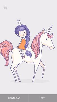 Kawaii Unicorn Wallpaper bronies screenshot 11