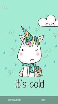 Kawaii Unicorn Wallpaper bronies screenshot 12