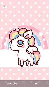 Kawaii Unicorn Wallpaper bronies screenshot 14