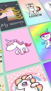 Kawaii Unicorn Wallpaper bronies screenshot 2