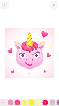 Unicorn - Color by Number Sandbox Coloring Pages screenshot 22