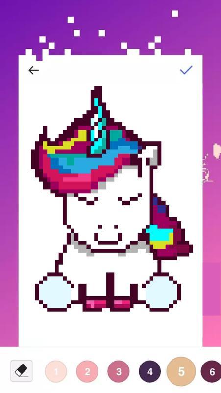 libro para colorear de unicornio - color número for Android - APK ...