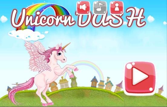 Unicorn Dash Magical Adventures 🐎 poster