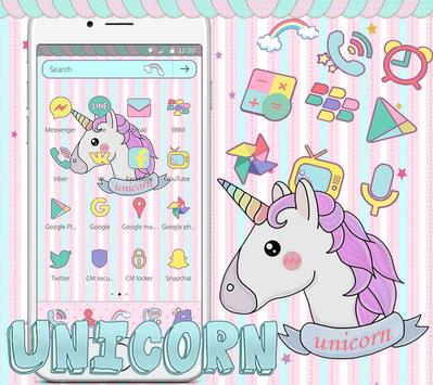 Unicorn Dream Theme Poster