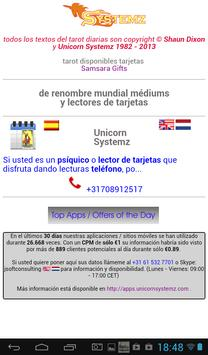 diario cartas del tarot apk screenshot