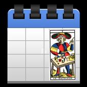 quotidienne de carte de tarot icon