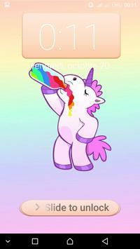 Unicorn password Lock Screen screenshot 4