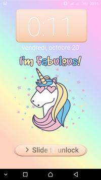 Unicorn password Lock Screen screenshot 3