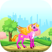 Unicorn Games for girl icon