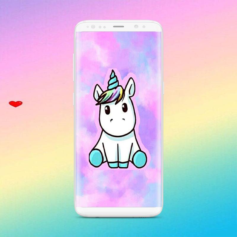 Fondo De Pantalla De Unicornio Kawaii For Android