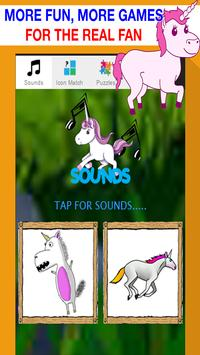 unicorn games for kids free poster