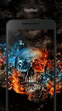 Burning skull screenshot 1