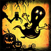 Halloween scary games icon