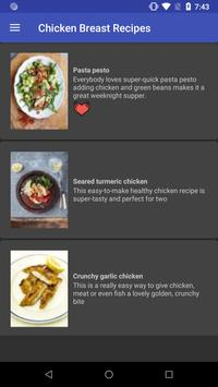 Chicken Breast Recipes screenshot 5