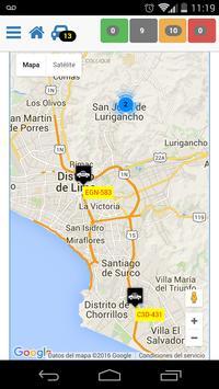 Unidos por GPS screenshot 2