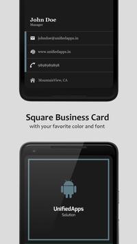 Business Card Maker تصوير الشاشة 6