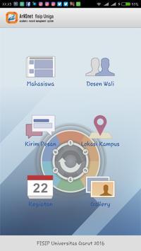 ArMS.net FISIP UniGa poster