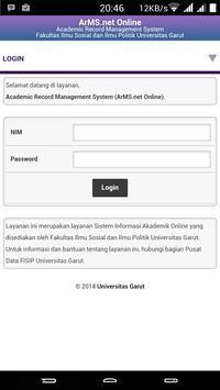 ArMS.net FISIP UniGa apk screenshot
